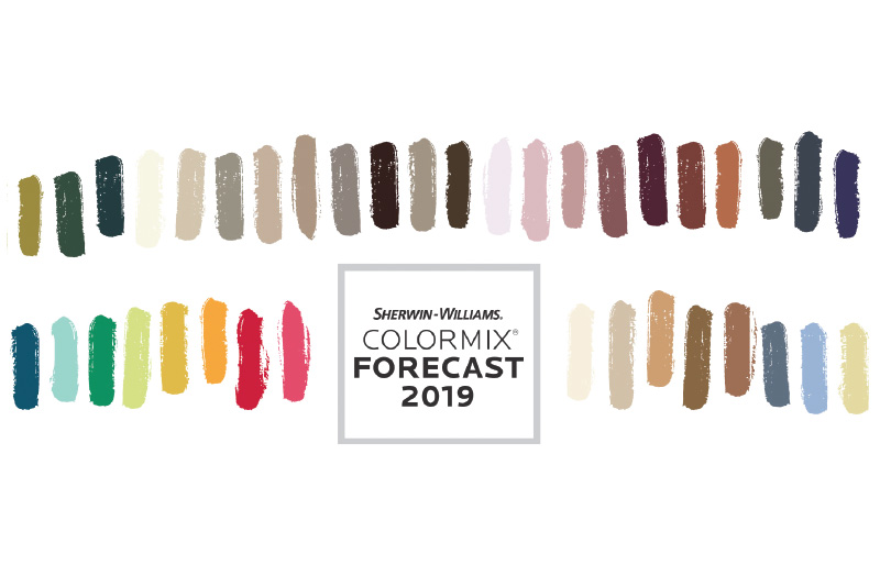 Colormix 174 Color Forecast 2019 Month Of Modern